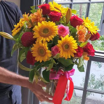 Sunflowers N Roses