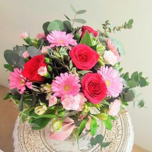 Pink Mix Vase