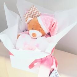 Pink Bear N Blanket