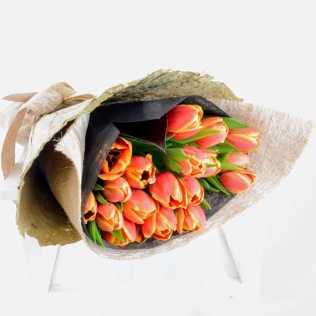 Twenty Tulips
