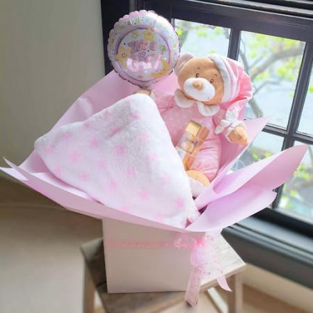 Bear, Blanket N Choc